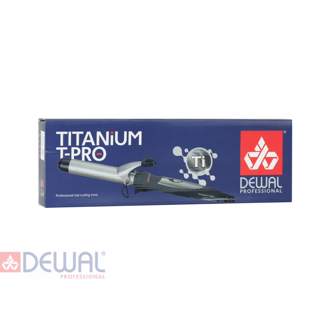 Плойка для волос TitaniumT (38 мм) DEWAL 03-38A