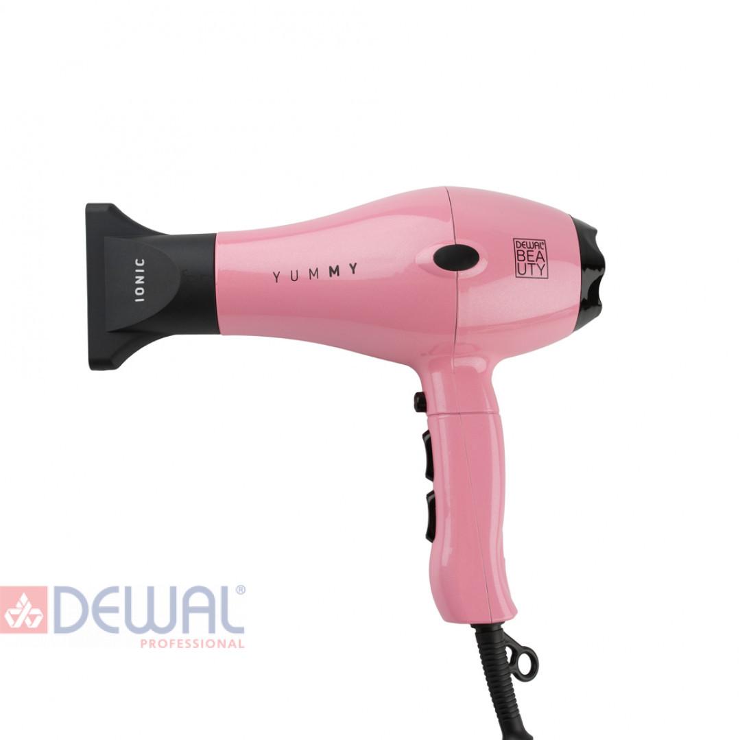 Фен 2000 Вт YumMy Pink DEWAL BEAUTY HD1000-Pink