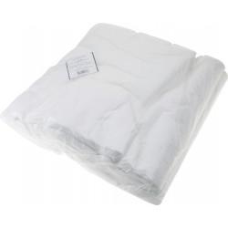 Полотенце белое 45 х 90 см (100 шт) DEWAL 01-348
