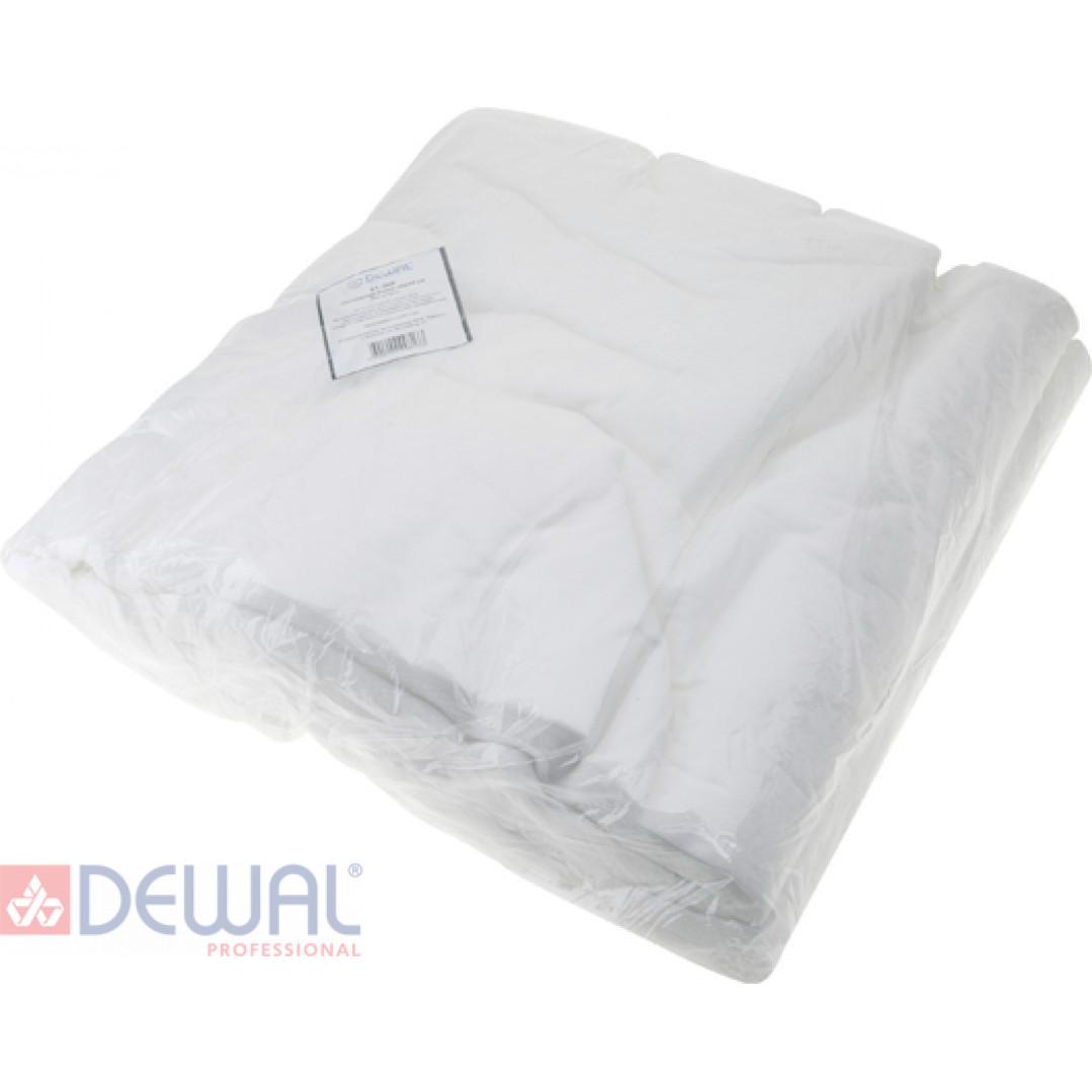 Полотенце белое 35 х 70 см (100 шт) DEWAL 01-352