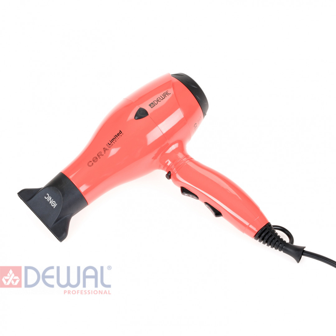 Фен 2000 Вт Coral Limited Edition DEWAL 03-119 Coral