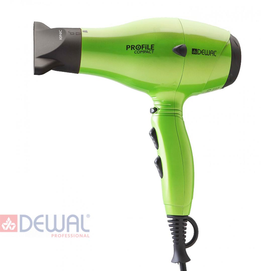 Фен 2000 Вт Profile Compact DEWAL 03-119 Green