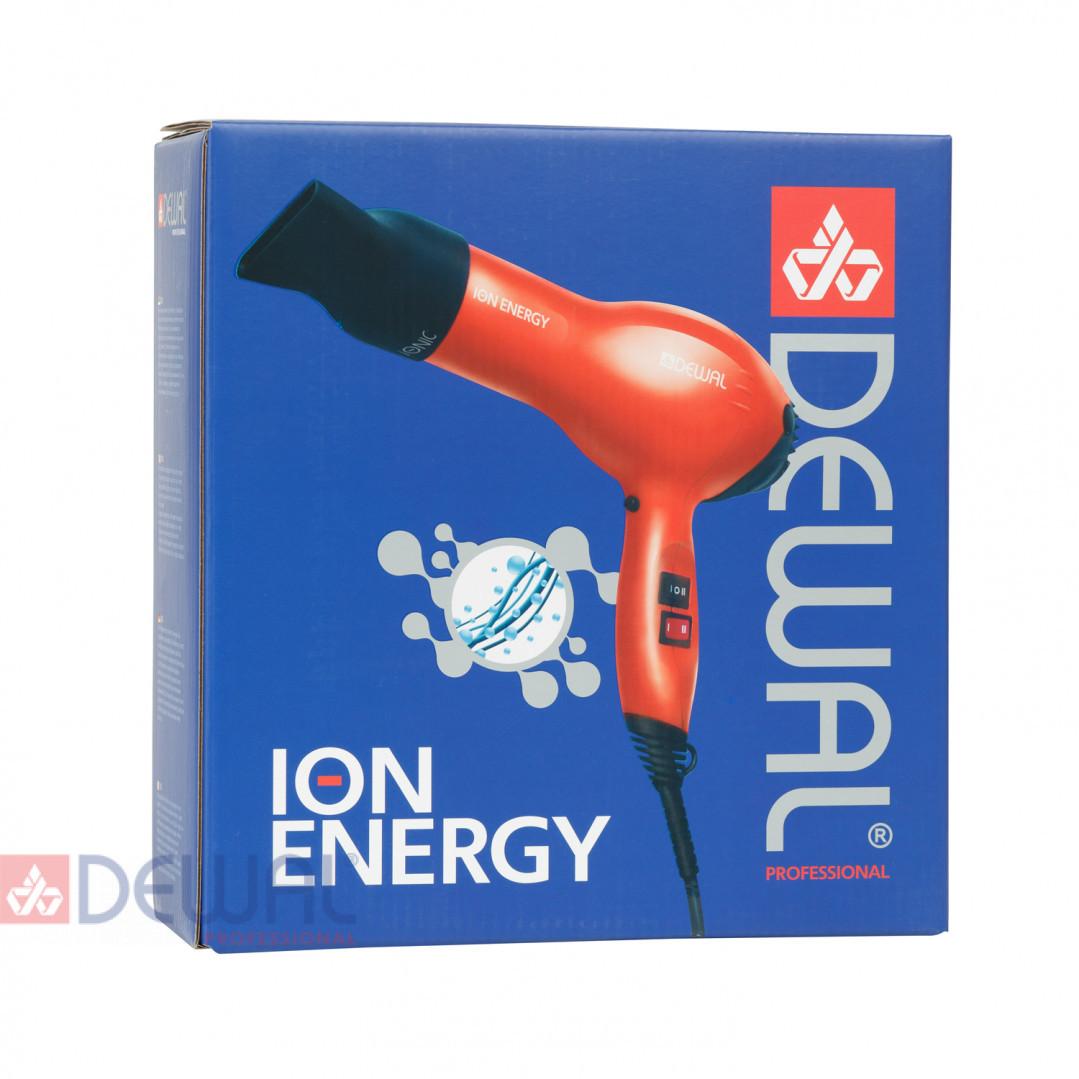 Фен 2000 Вт ION Energy DEWAL 03-8800 Red