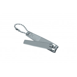 Книпсер-брелок, цвет: никель DEWAL 112