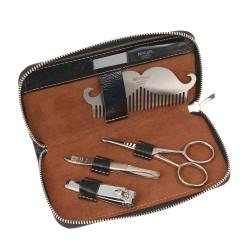 Мужской набор для бороды, усов и ногтей DEWAL 1664MEN
