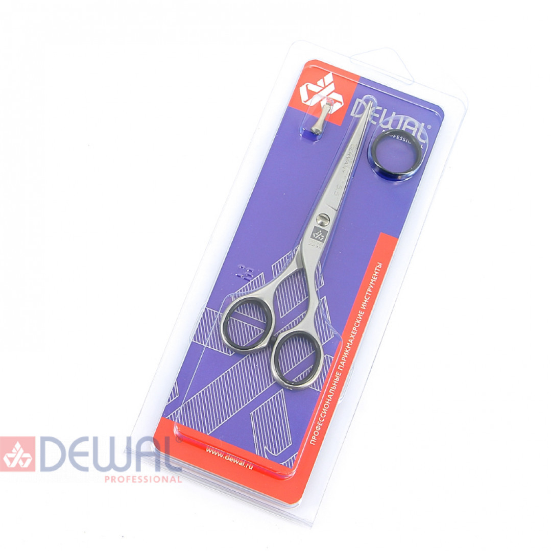 """Парикмахерские ножницы BASIC STEP прямые с микронасечками 5,5"""" DEWAL 2235/5,5"""
