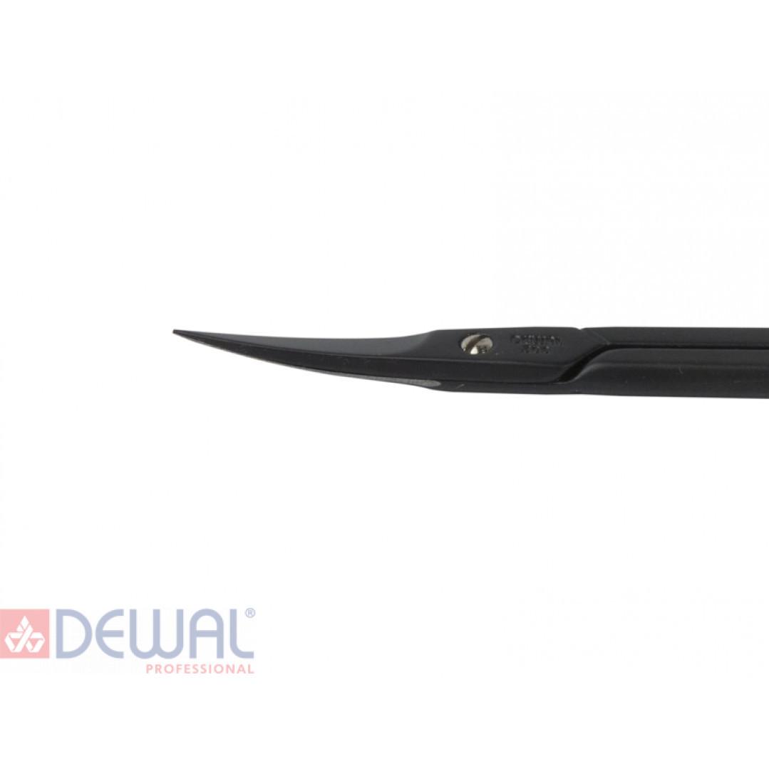 Ножницы для кутикулы Black Edition DEWAL 308black