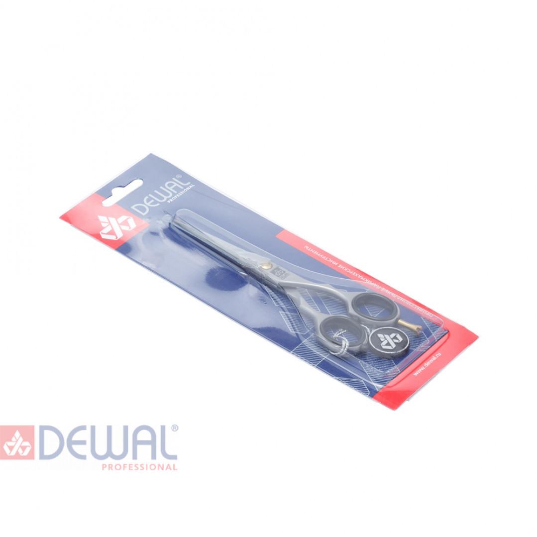 """Парикмахерские ножницы BASIC STEP прямые с микронасечками  5,5"""" DEWAL 4444/5,5N"""