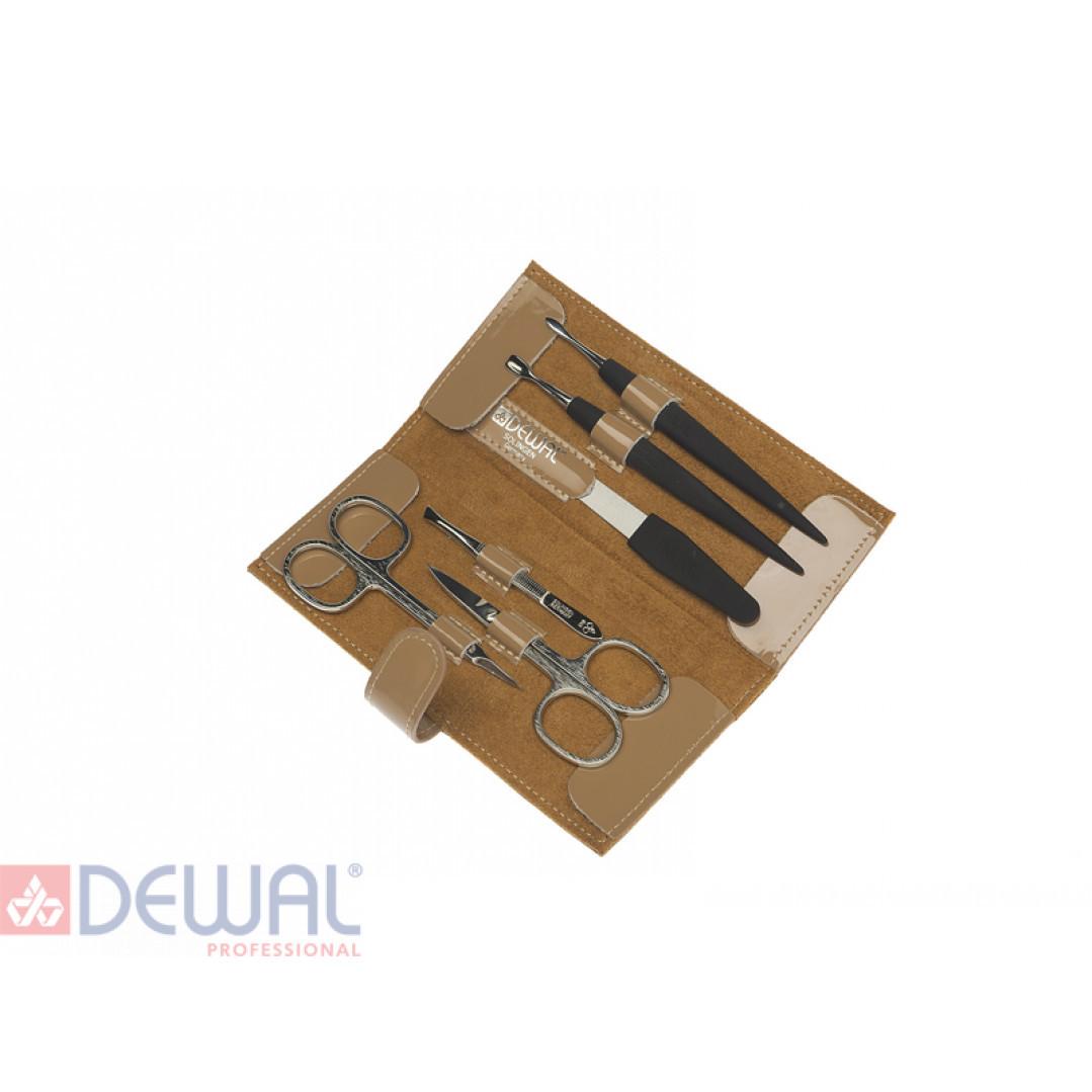 Маникюрный набор 6 предметов DEWAL 507EB*