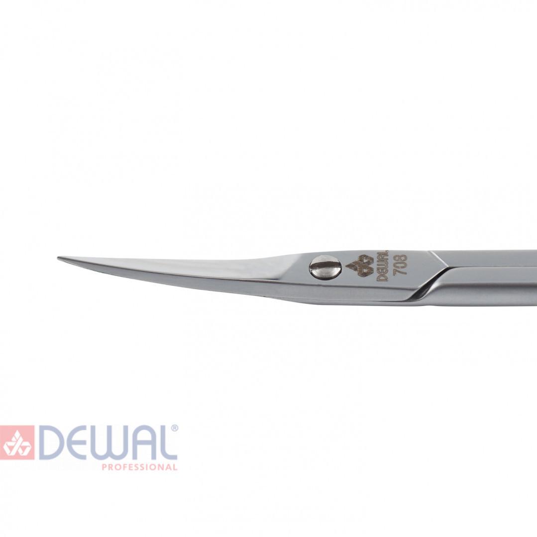 Ножницы для кутикул сатинированные DEWAL 708