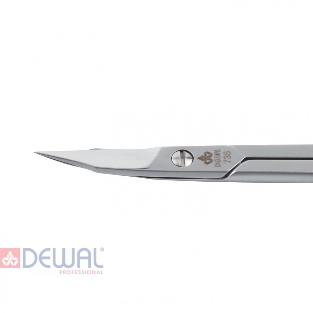 Ножницы для ногтей, никель DEWAL 736