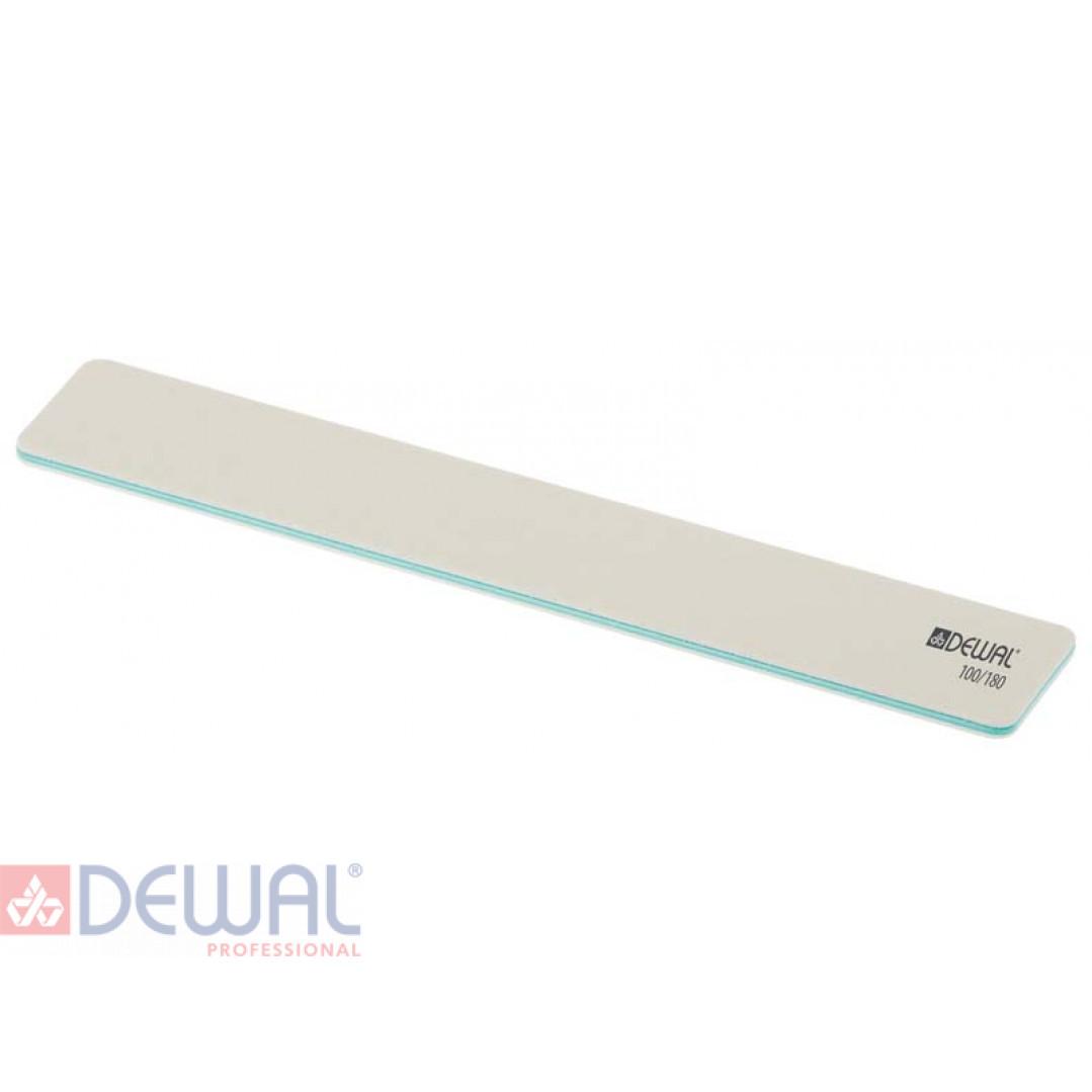 Пилка широкая белая, 100/180, 18 см DEWAL 9100660K
