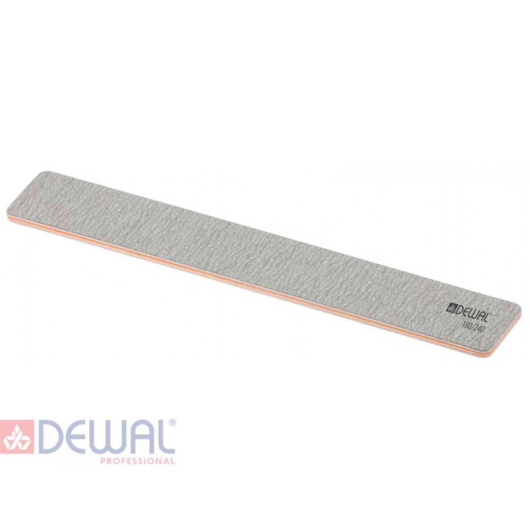 Пилка широкая серая, 180/240, 18 см DEWAL 9101403K
