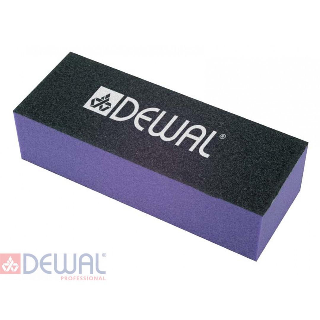 Брусок шлифовальный фиолетовый. Абразивность 80/80/100 гр.  DEWAL 9104004K