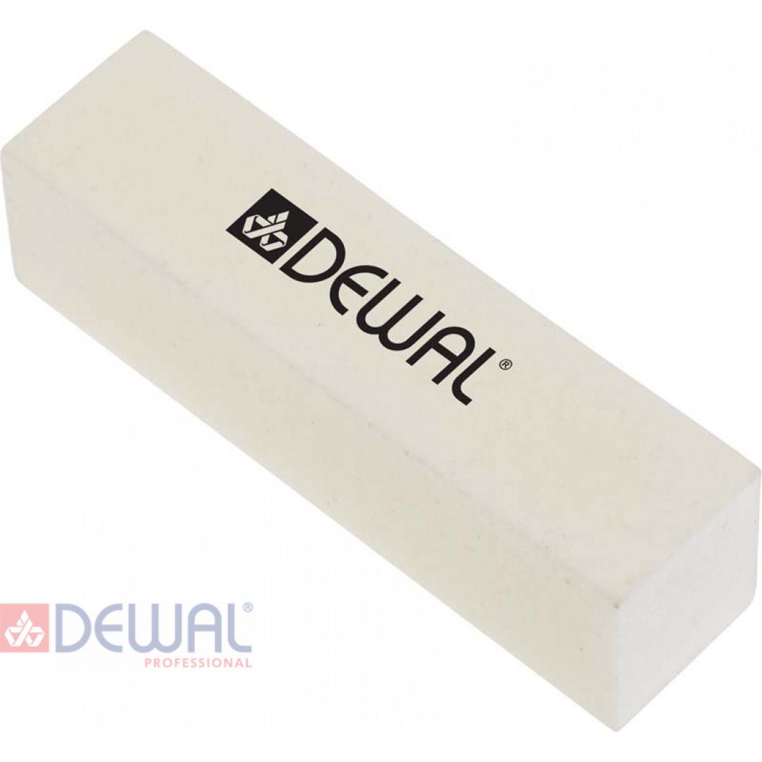 Брусок шлифовальный белый. Абразивность 120/180 гр.  DEWAL 9104211K