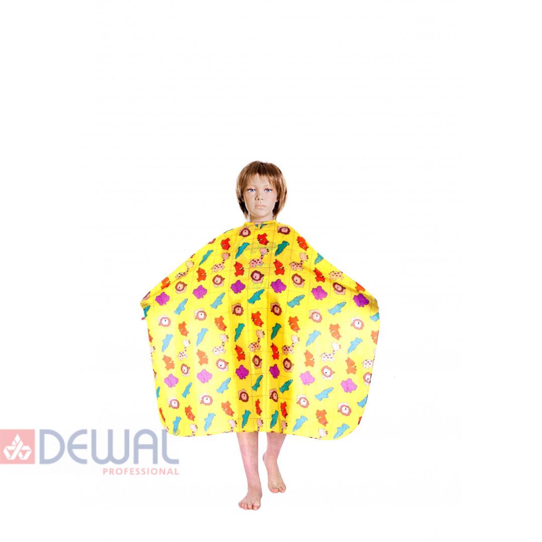 """Пеньюар для стрижки """"Зоопарк"""" детский 95 х 120 см DEWAL AP28"""