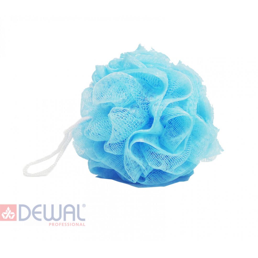 Мочалка для тела (50 гр.) голубая DEWAL BEAUTY BCS-50BL