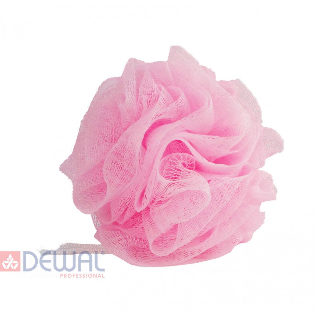 Мочалка для тела (50 гр.) розовая DEWAL BEAUTY BCS-50P