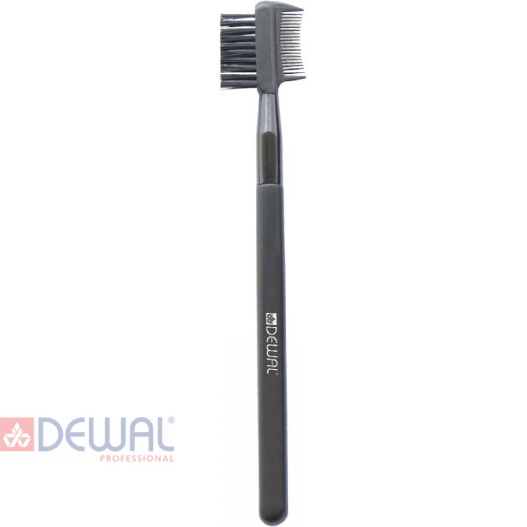 Расческа для бровей и ресниц 15,8 см DEWAL BR-422
