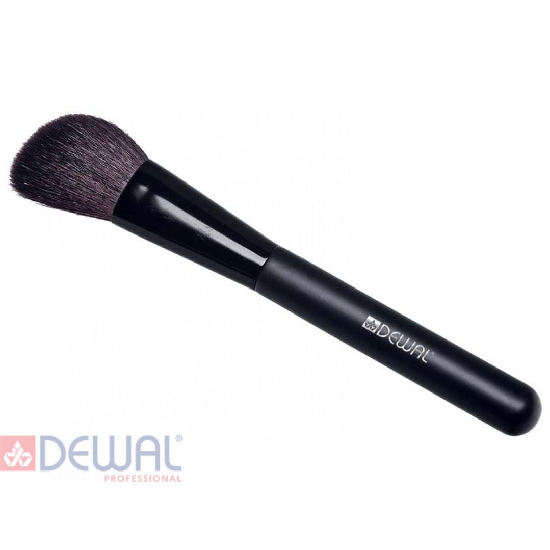 Кисть косая для румян 16 см DEWAL BR-510