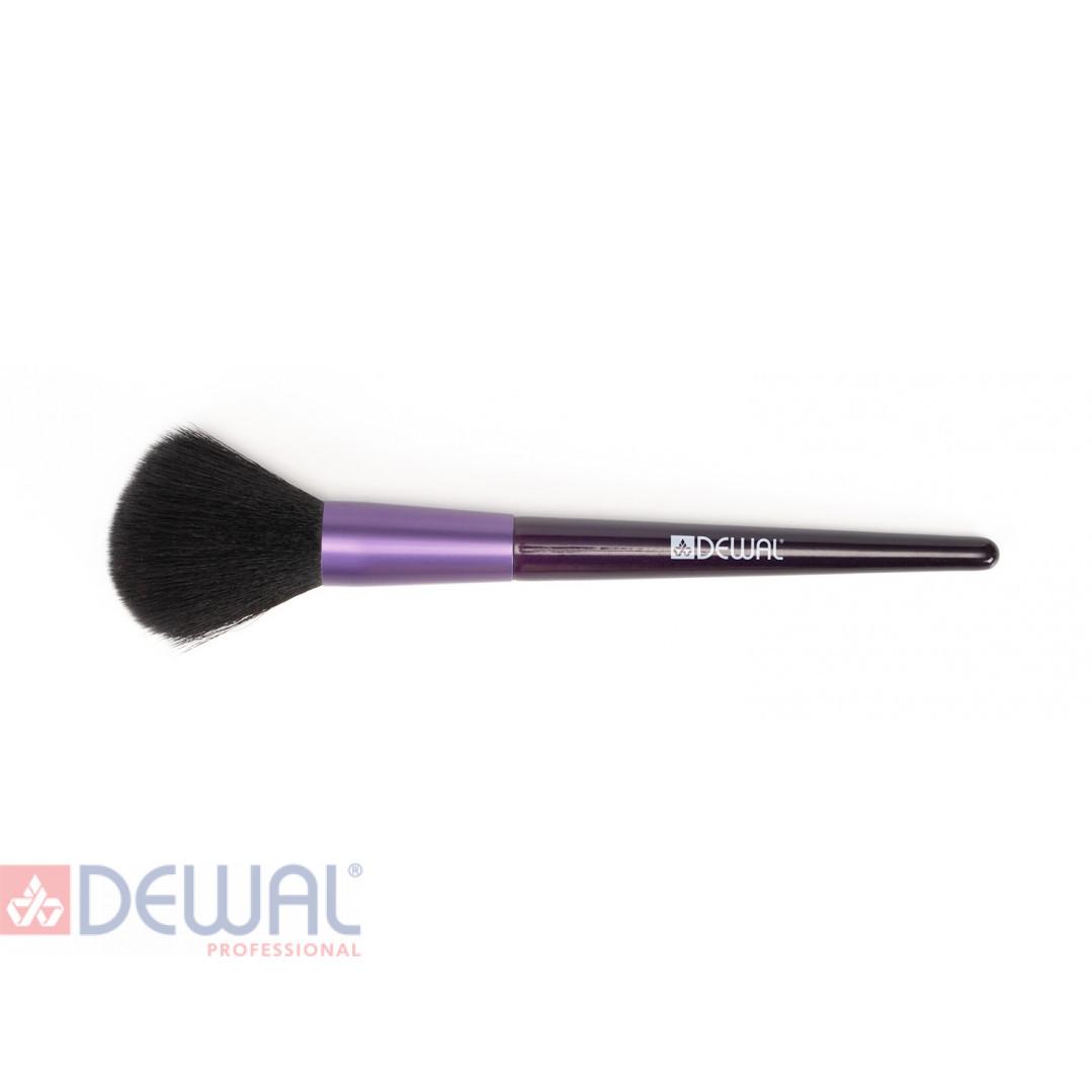 Кисть для пудры 16 см DEWAL BR-536