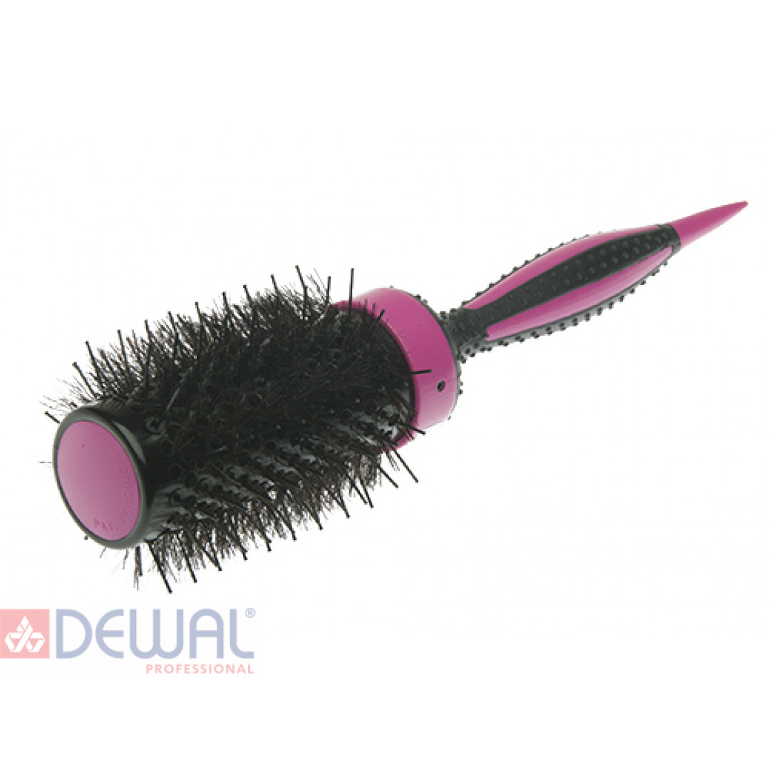 Термобрашинг розовый ELITE натуральная щетина d 49/70 мм DEWAL BR49-ELITEpink*