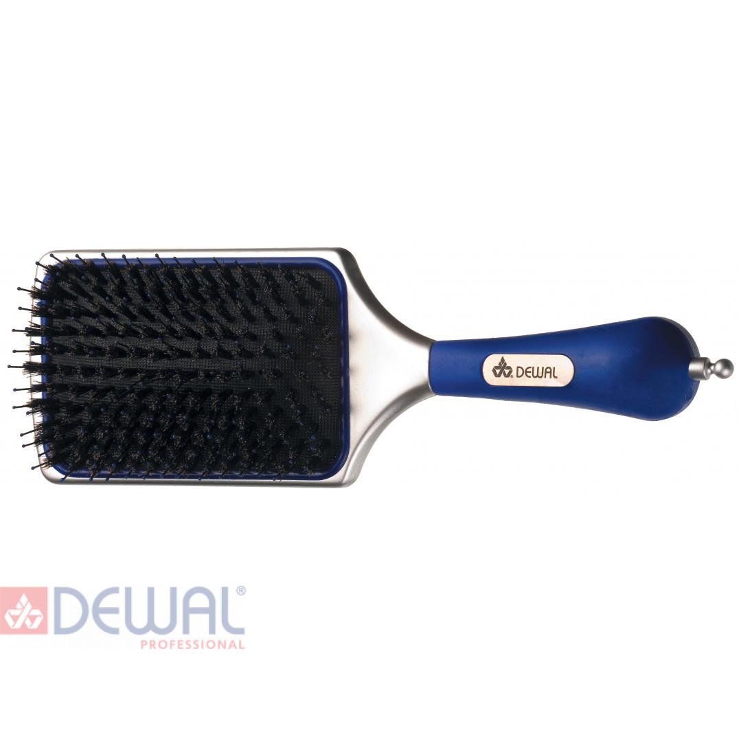 Щетка массажная лопата DEWAL BR69995BC blue