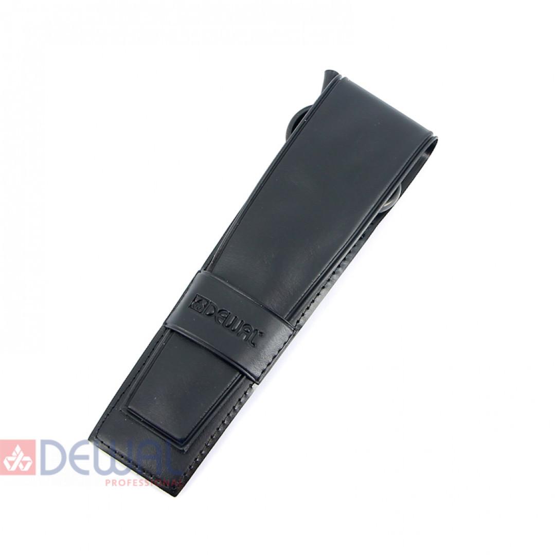 Парикмахерские ножницы PROFI STEP прямые 5,5'' черные DEWAL BS255