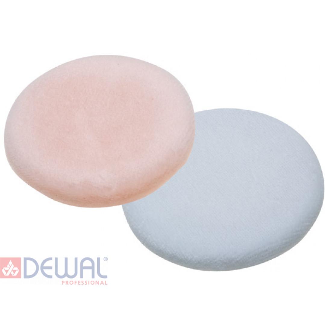 Губка макияжная, круглая (2 шт) DEWAL C60
