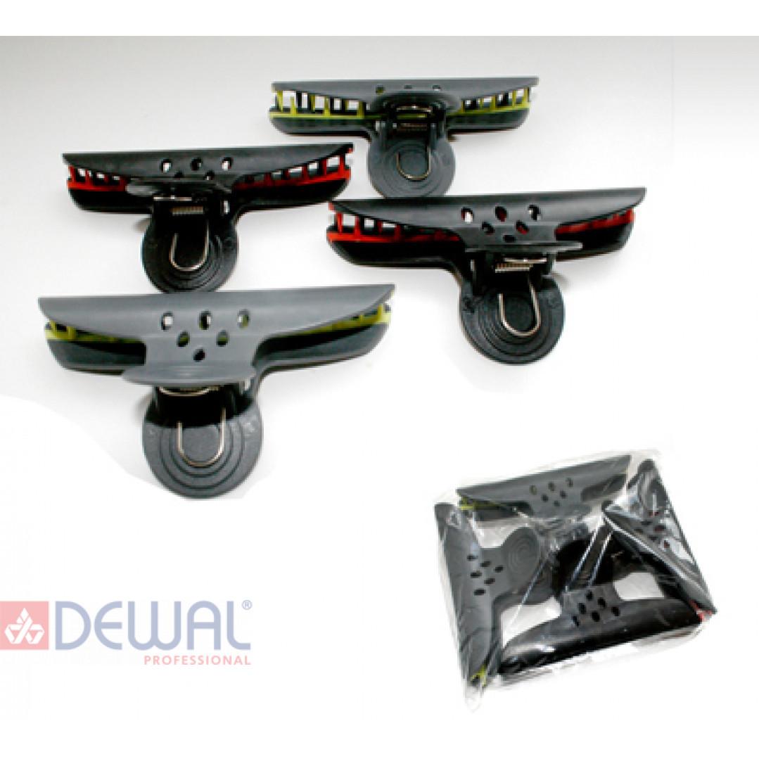 "Зажим ""бабочка"" большой, 10 см (4 шт.) DEWAL CL2207"