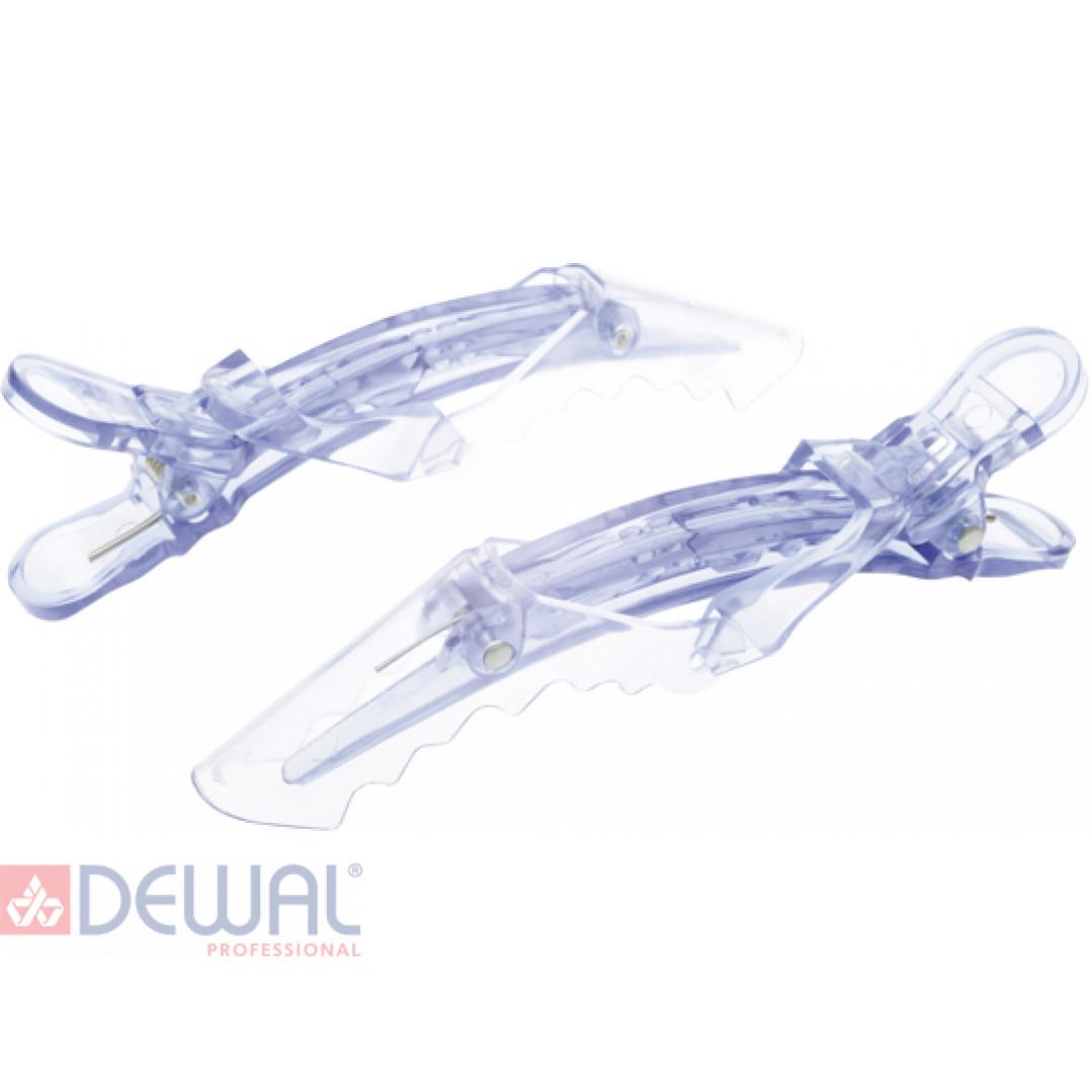 "Зажим ""крокодил"" пластик, 11 см (2 шт.) DEWAL CL2601"