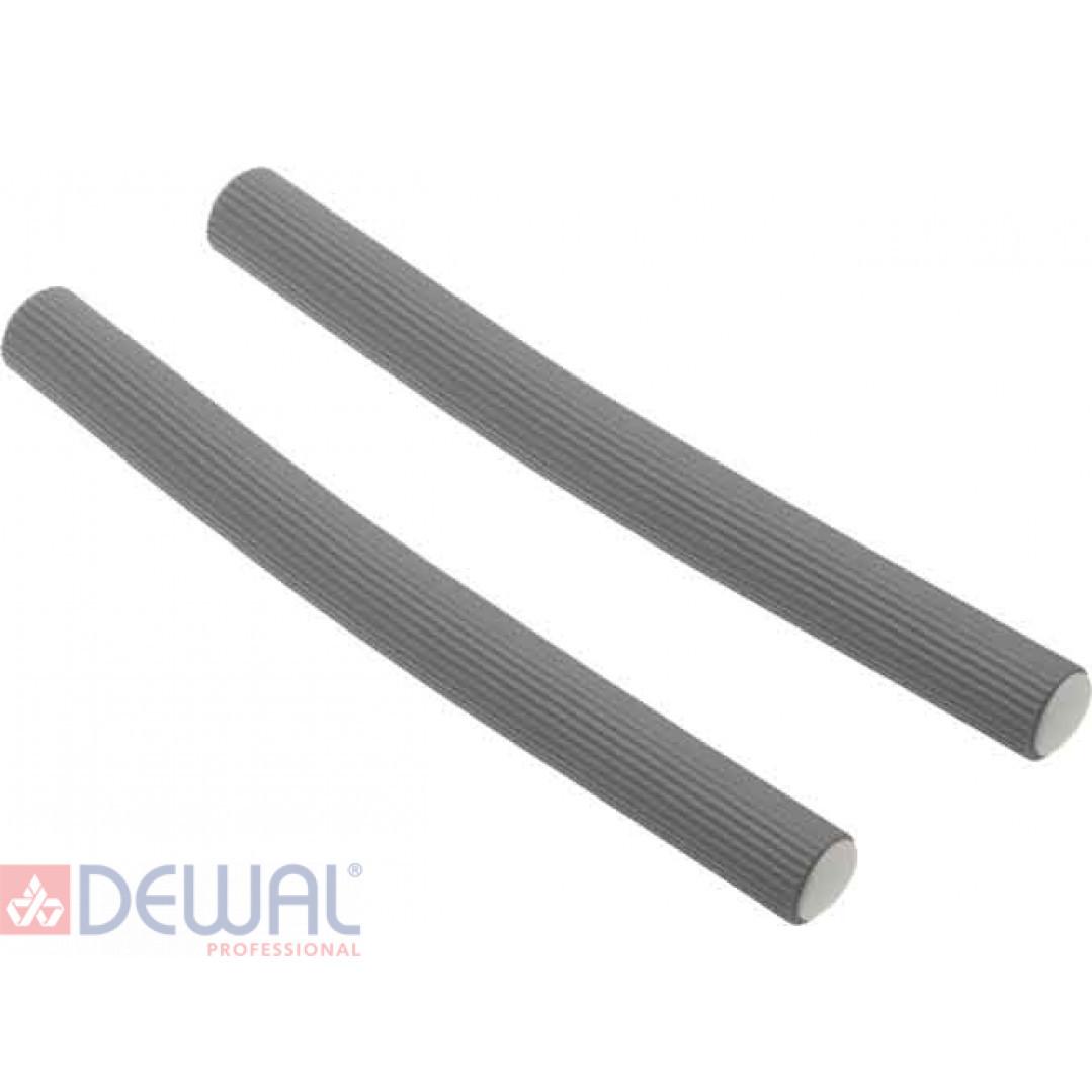 Бигуди-бумеранги серые d 19 мм x 180 мм (10 шт) DEWAL BEAUTY DBB19