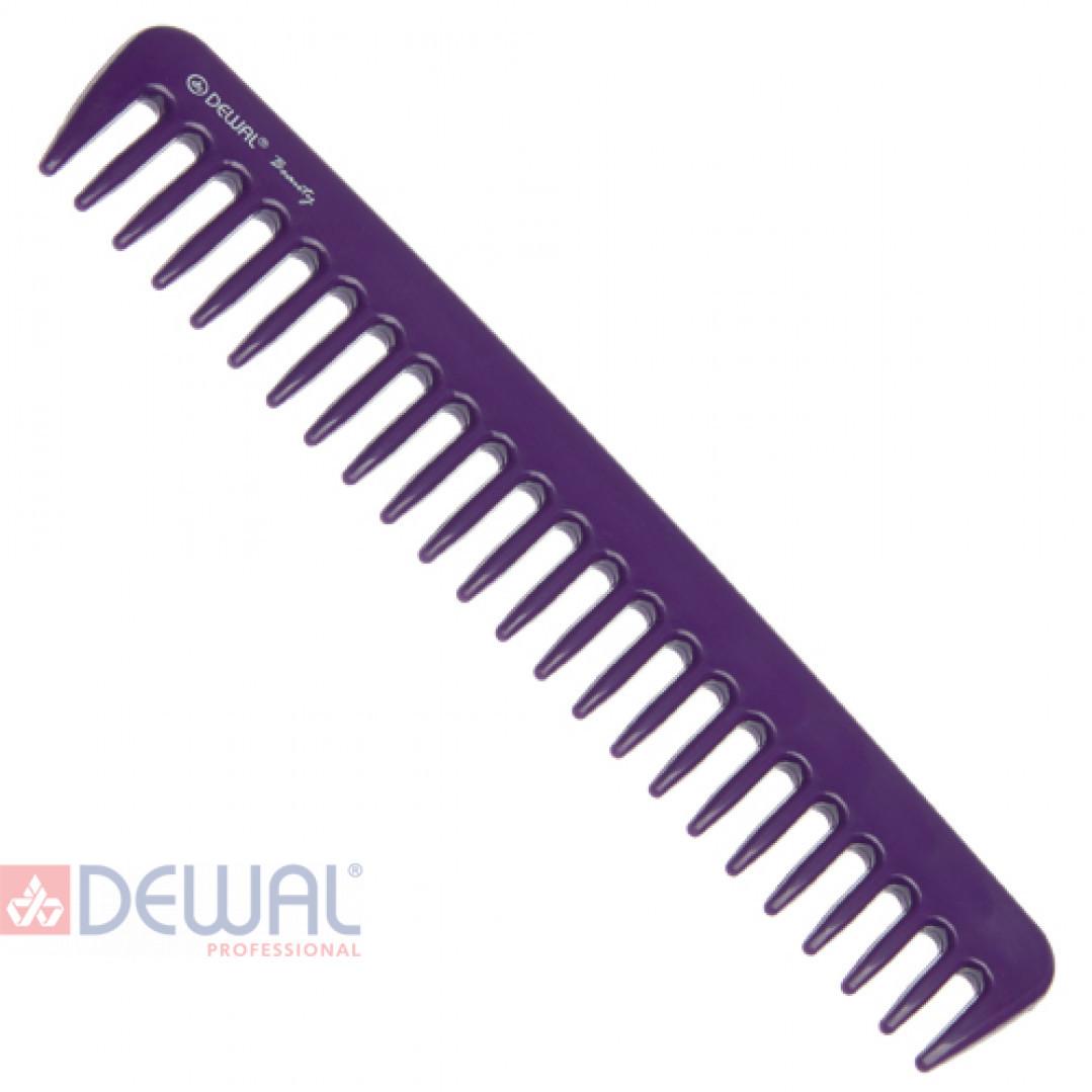 Гребень фиолетовый DEWAL BEAUTY DBFI6021