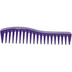 Гребень волна фиолетовый DEWAL BEAUTY DBFI6260