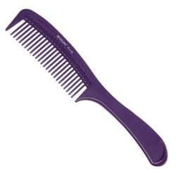 Расческа с ручкой фиолетовая DEWAL BEAUTY DBFI6810