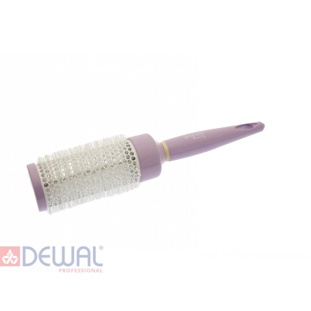 """Термобрашинг """"Черничное мороженое"""" с керамическим покрытием d 44 DEWAL BEAUTY DBHM1"""