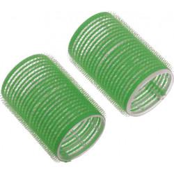 Бигуди-липучки зеленые d 48 мм x 63 мм (10 шт) DEWAL BEAUTY DBL48