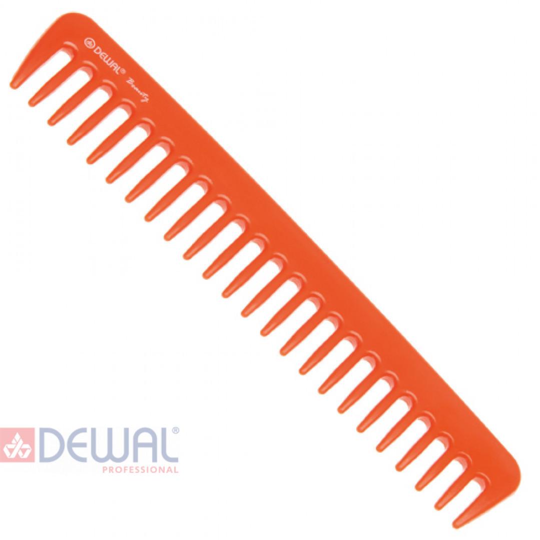 Гребень оранжевый DEWAL BEAUTY DBO6021
