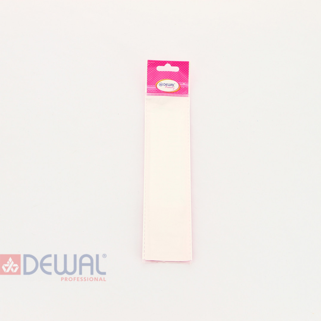 Расческа рабочая с пластиковым хвостиком оранжевая DEWAL BEAUTY DBO6104