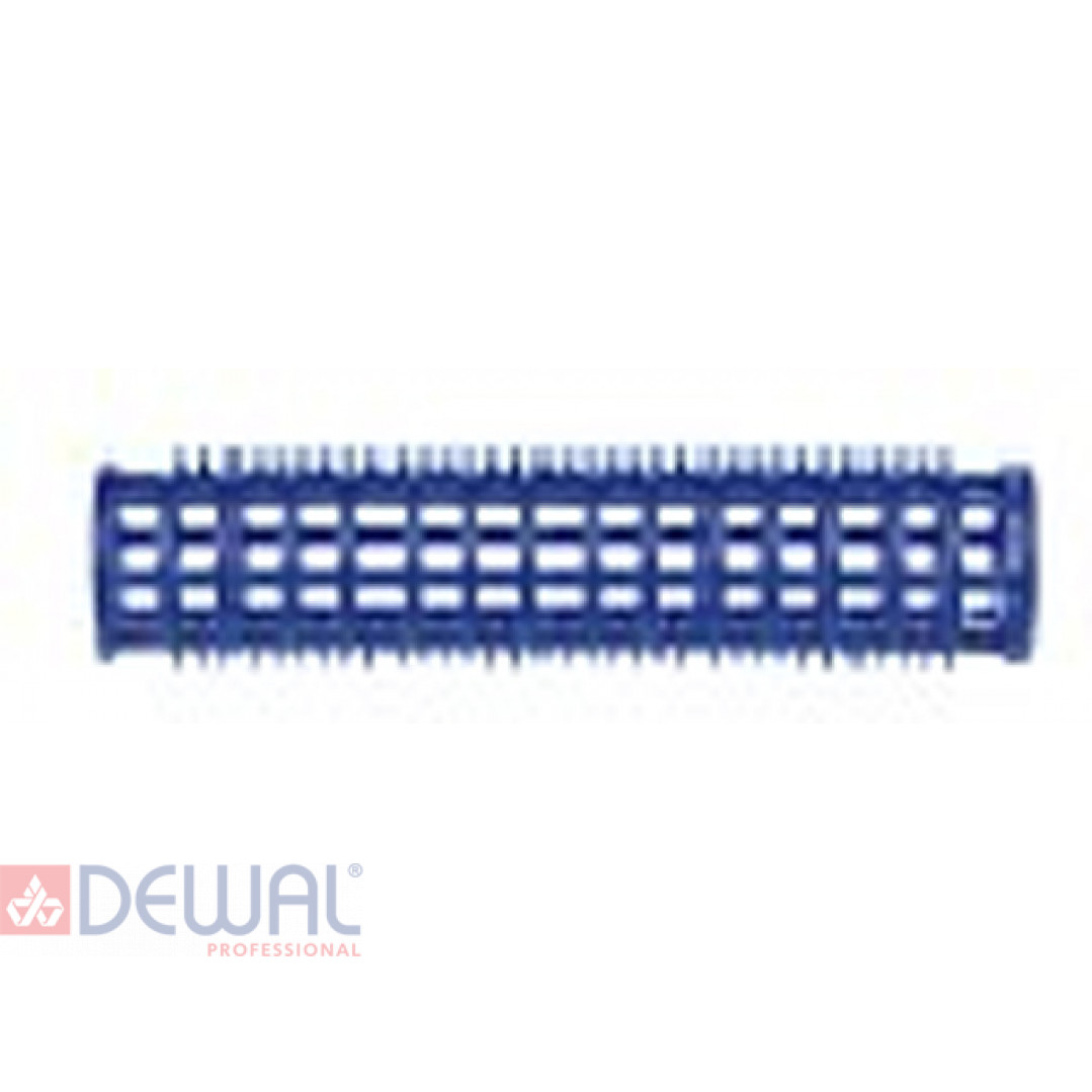 Бигуди пластиковые синие d 17 мм x 76 мм (10 шт) DEWAL BEAUTY DBPP17