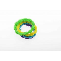 Резинки для волос цветные, midi (8 шт) DEWAL BEAUTY DBR13