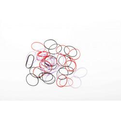 Резинки для волос силикон цветные, mini (50 шт) DEWAL BEAUTY DBR18