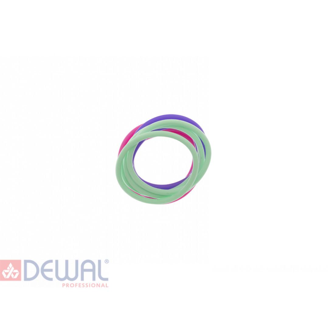 Резинки для волос силиконовые (12 шт) DEWAL BEAUTY DBR21
