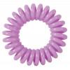 """Резинки для волос """"Пружинка"""" цвет фиолетовый (3 шт) DEWAL BEAUTY DBR22"""