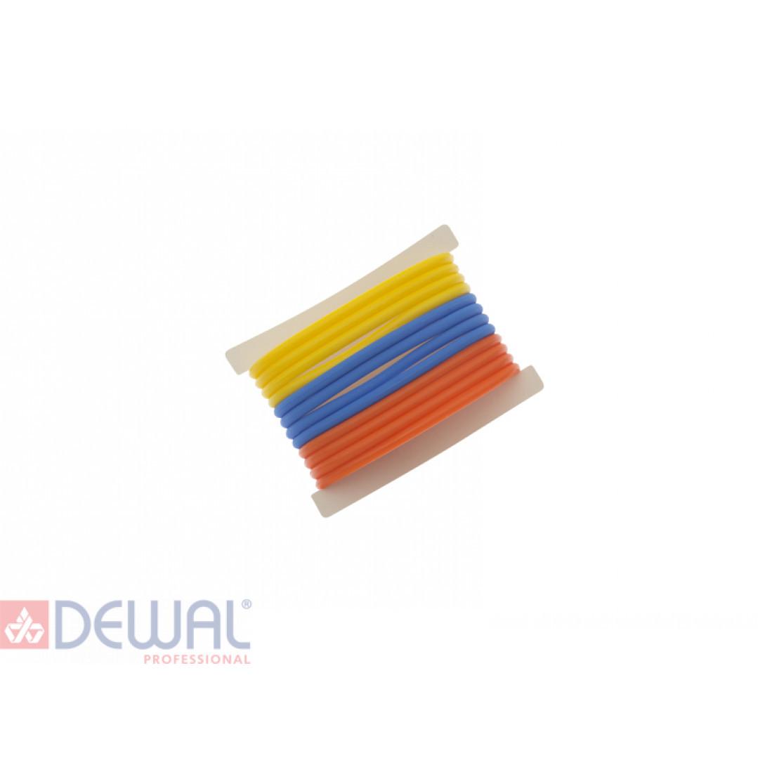 Резинки для волос силиконовые (12 шт) DEWAL BEAUTY DBR26