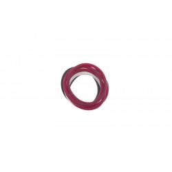 Резинки для волос силиконовые (12 шт) DEWAL BEAUTY DBR27