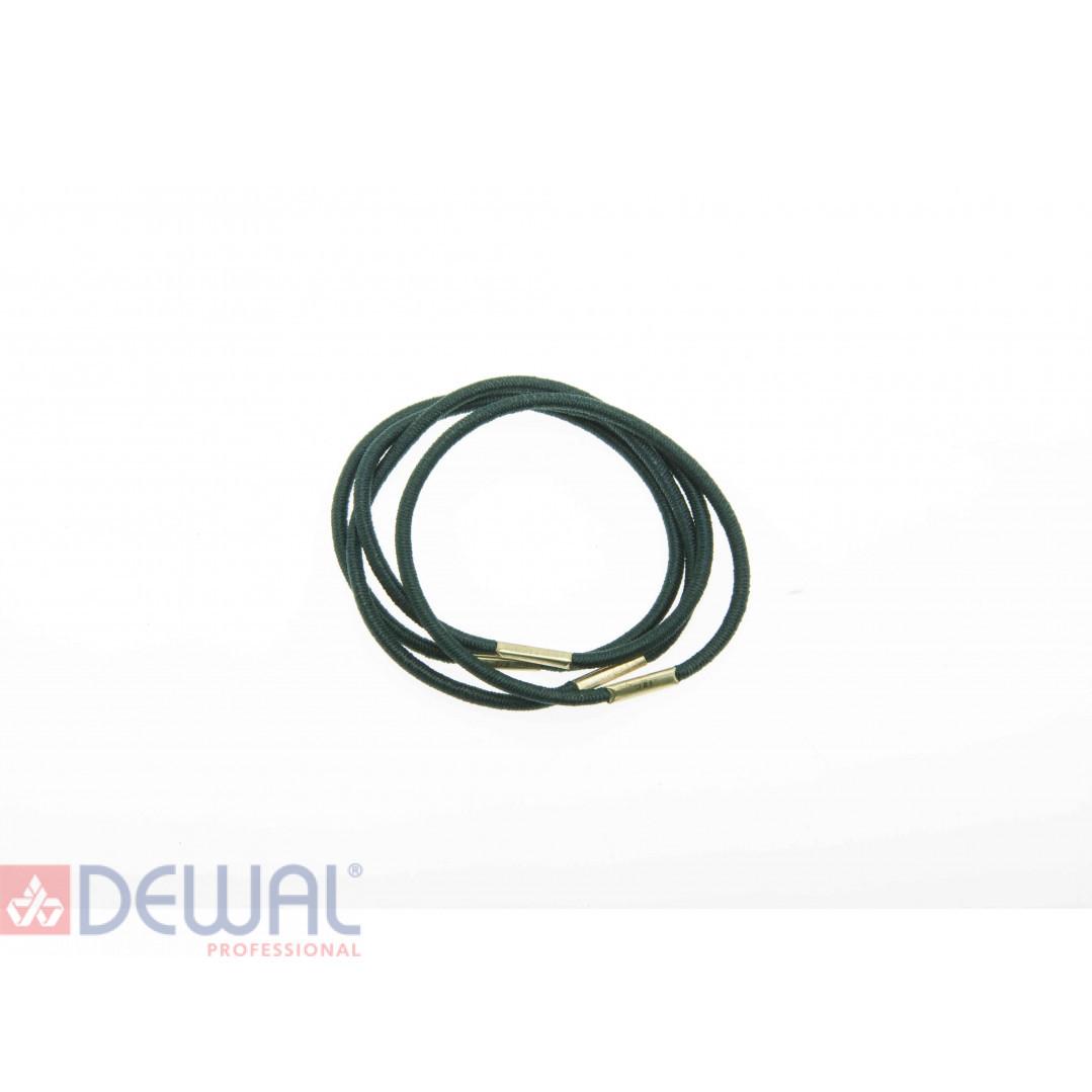 Резинки для волос графит, midi (8 шт) DEWAL BEAUTY DBR2