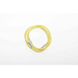 Резинки для волос радуга желтая, midi (8шт) DEWAL BEAUTY DBR7