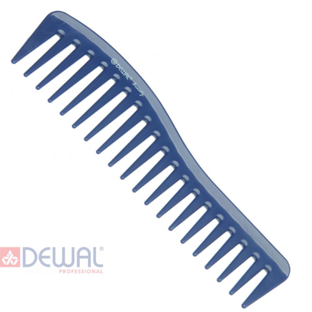 Гребень волна синий DEWAL BEAUTY DBS6260