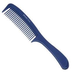 Расческа с ручкой синяя DEWAL BEAUTY DBS6810